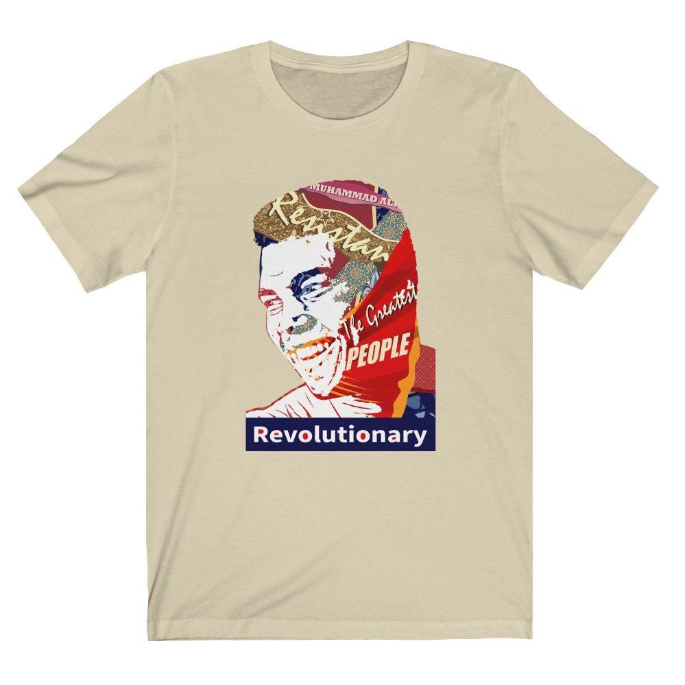 muhammad ali revolution t shirt