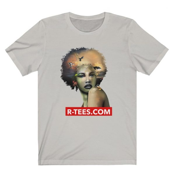 afro black woman t shirt