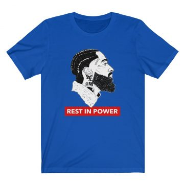 nipsey hussle hustle rest in peace power t shirt