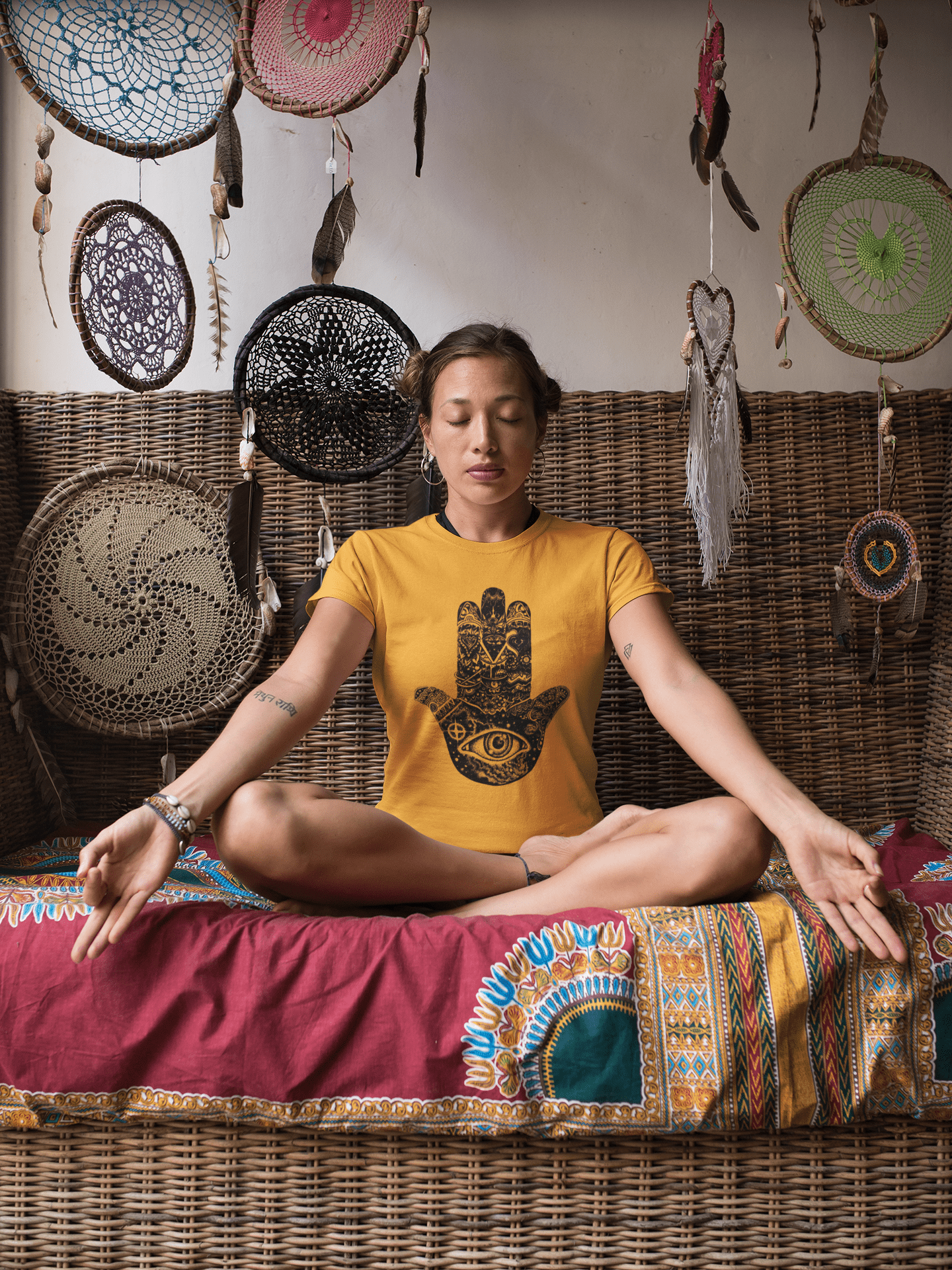 t-shirt-mockup-of-a-yoga-girl-surrounded-by-tribal-ornaments-26851